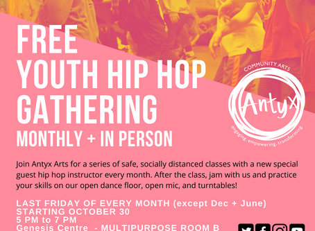 Free Youth Programs by Antyx
