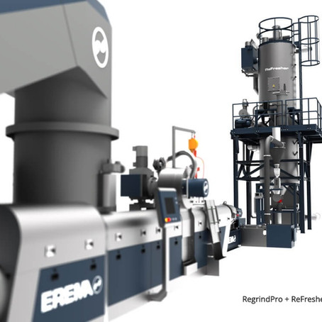 EREMA's Answer to Increased Demand for Food Packaging Recycling