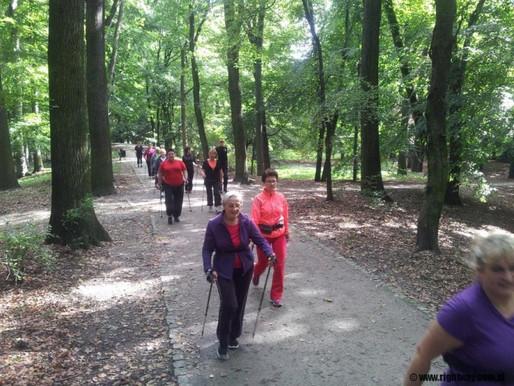 Sport to zdrowie. Nordic Walking ćwiczą 80 i 90-latkowie.