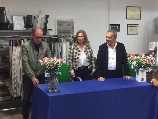 Il Club di Molfetta in visita all'azienda Ferrarese del socio Enzo Di Gioia