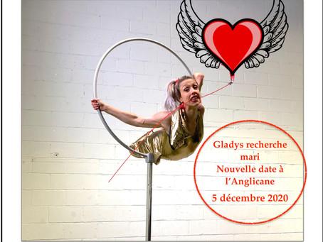 Nouvelle Date pour Gladys recherche mari à l'Anglicane