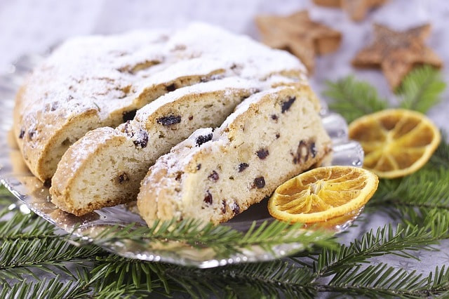 Zdravý recept na vánoční štolu