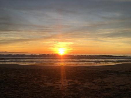 Stillness At Sunset