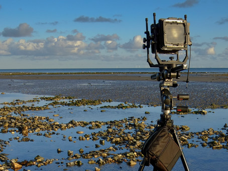 Using the Cambo Monorail 4x5 in the field…...