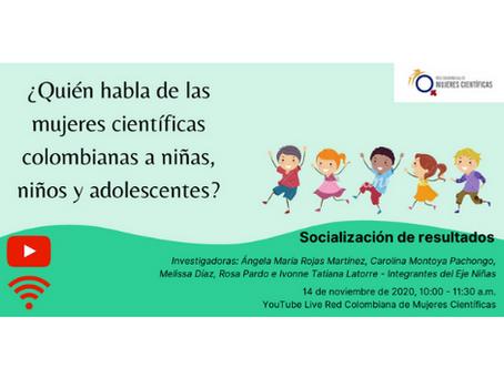 Socialización de resultados investigación del Eje Niñas de la Red Colombiana de Mujeres