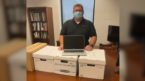Eastman donates laptops to assist PHCC students in need