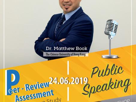 Workshop với TS. Matthew Book