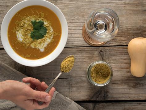 Sopa de calabaza especiada para paladares gourmet!
