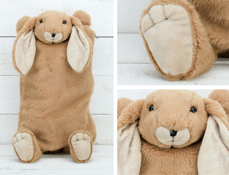 NOTH The lifestyle guide, Hot water bottle, bunny hot water bottle, kids