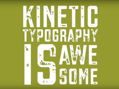 Mobile app idea #92: Kinetic Typography Cloud