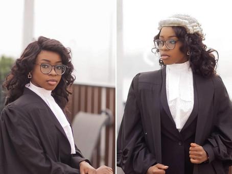 Meet Young Ghanaian female lawyer gets called to The Gambia and Ghana bars @Adwoa Amoako Adjei