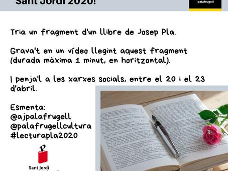 Palafrugell convida a participar en la lectura de l'obra de Josep Pla a les xarxes socials