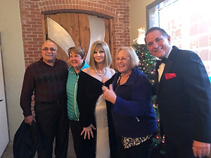 Christmas Event 12/2018:  Joe and Judy Iquinto and Pat Maselli