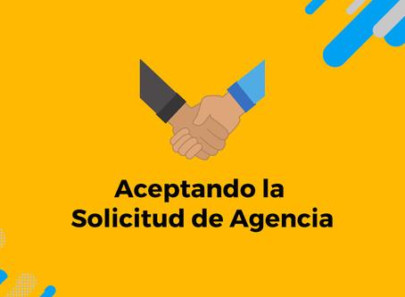 Cómo aceptar la solicitud de Agencia en Facebook