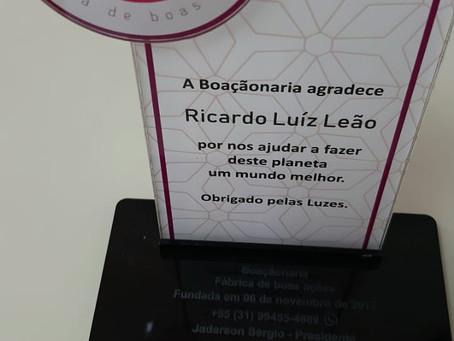 Nosso Amigo Ricardo Leão carinhosamente fala sobre a Boaçãonaria