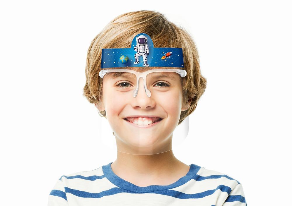Schutzvisier für Kinder / Gesichtsvisiere für Kinder
