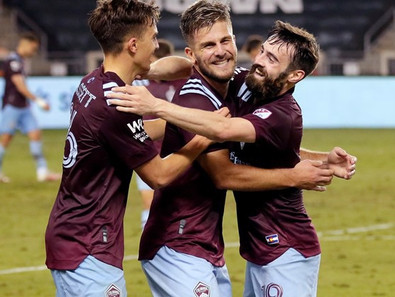 Rapids Beat Houston Late