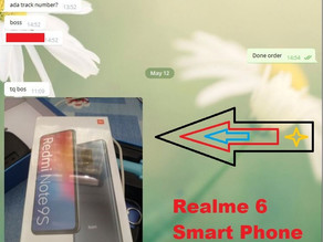 M3win May Lucky Draw - Realme 6 Smart Phone