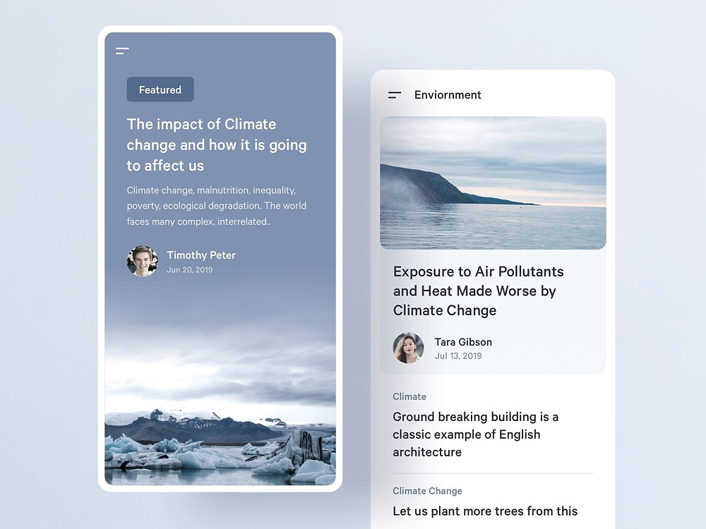 Featured Story   Environment Website