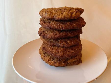Oatmeal & Chocolate Cookies   Galletas de Avena y Chocolate