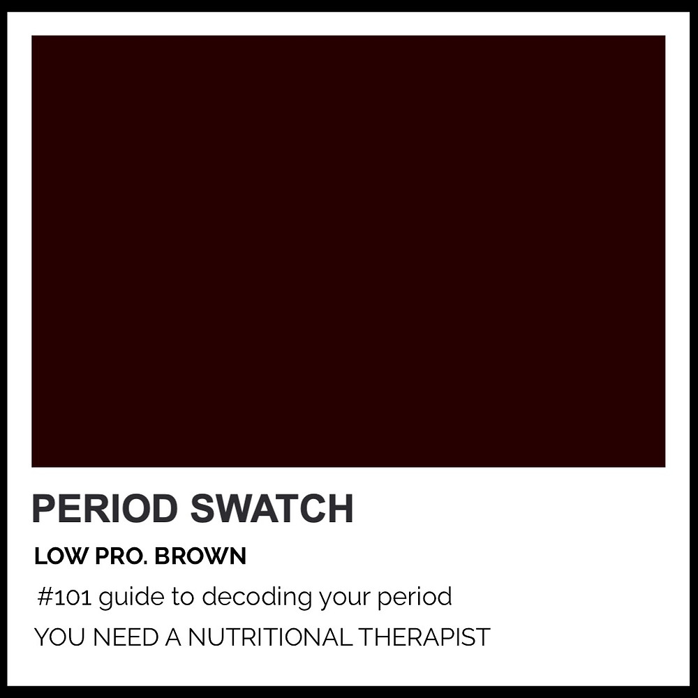 Period-Pantone Low Pro Brown by Hormone Specialist Kay Ali