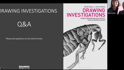 Book Launch at Drawing Projects UK