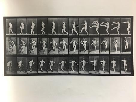 身体の動きを明かした連続写真