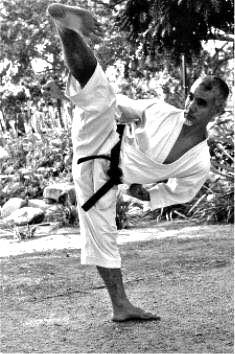 Toru Shimoji Kicking