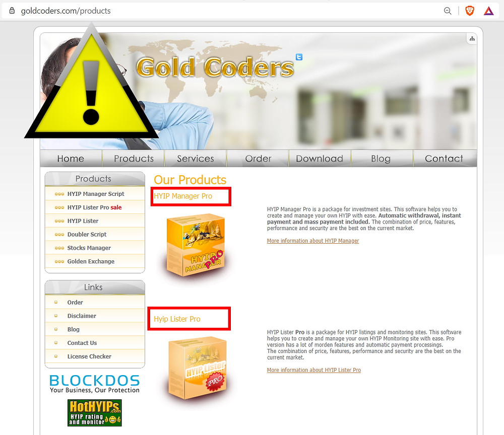 GoldCoders SCAM