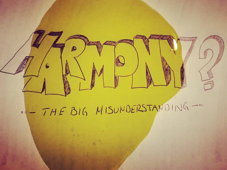 The harmony parameter - the big misunderstanding