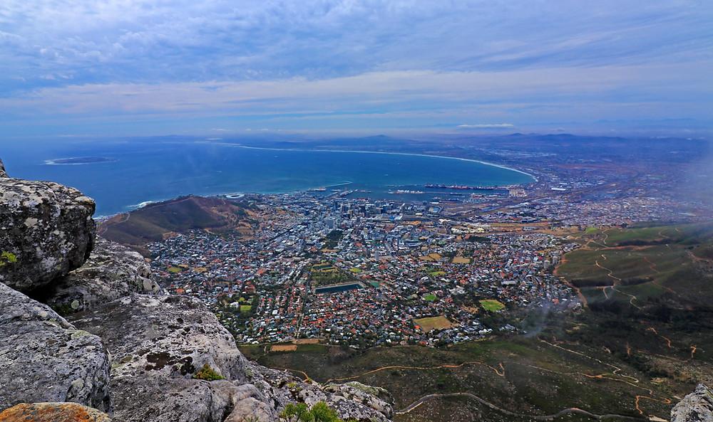 Blick vom Tafelberg