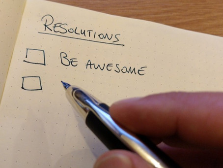 New Year's resolutions - why not give up now?