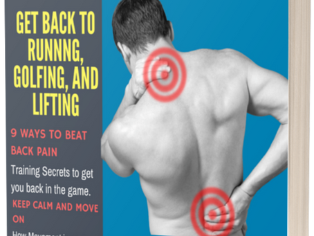 5 Things you can do today to ease low back pain Free E-Book-Download Today