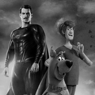Shaggy, Scooby, and Superman