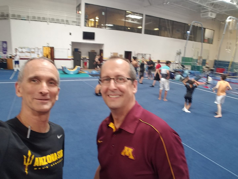 Arizona and Minnesota coaches