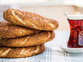 Simit, Turkish famous Street Food