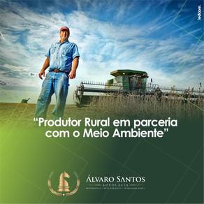 Produtor Rural em parceria com o Meio Ambiente
