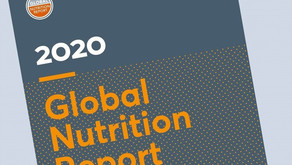 2020 Global Nutrition Report (Online Launch 12th May)
