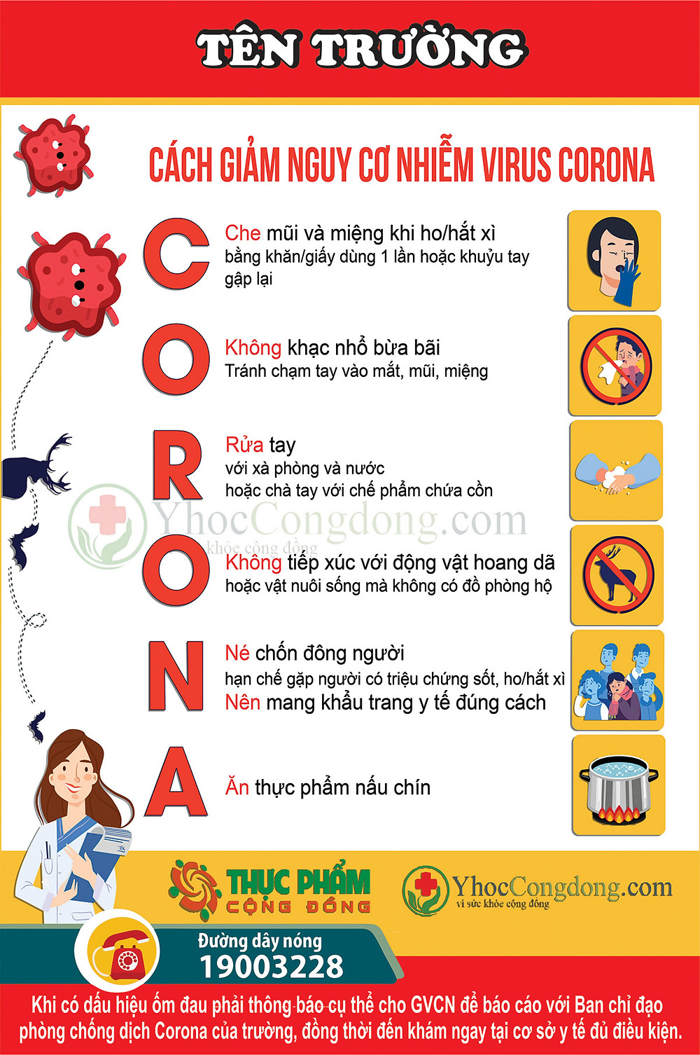 File In Phòng Chống virus CORONA COVID-19 Vector Corel