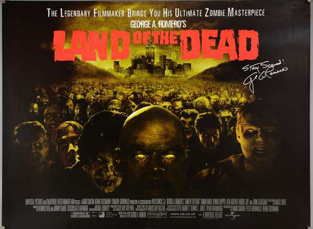 """""""LAND OF THE DEAD"""" Blu-ray                                      by Roy Frumkes"""
