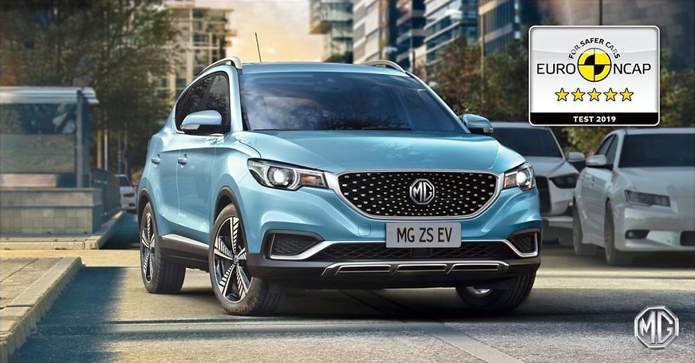 The all-new MG ZS EV and MG HS