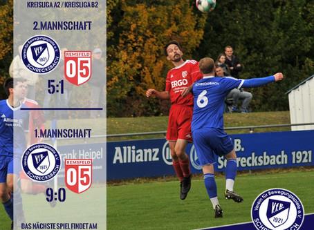 Ergebnisse der heutigen Heimspiele gegen TSV Remsfeld