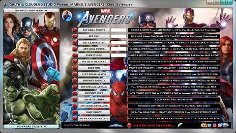 Marvel Avengers Cheats, Trainer, Mod, Save Editor, Code, Trick,