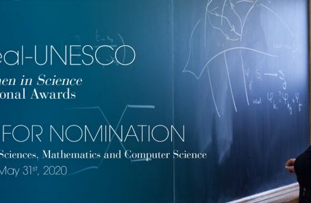 Nominación premios internacionales L'Oréal-UNESCO para la Mujer en la Ciencia 2021