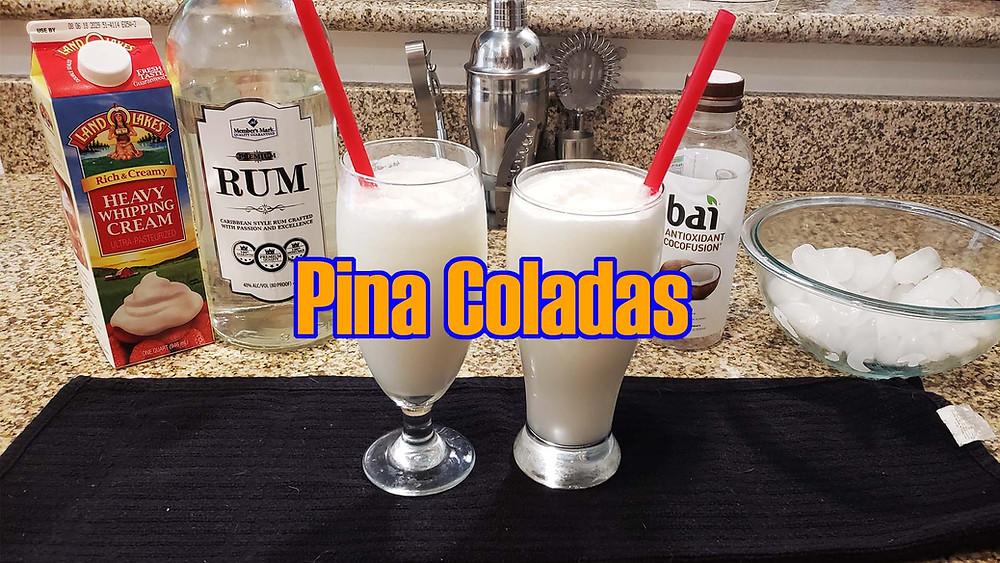 Keto Pina Colada Recipe