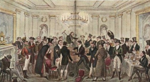 19th Century Gambling at Private Clubs
