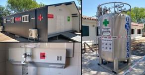 Se inaugurará un sistema de oxígeno central y módulo de internación en el hospital de Cerrillos