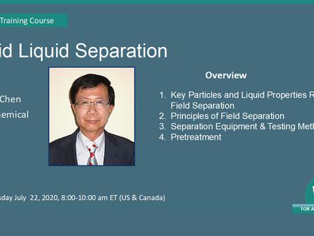 Solid/Liquid Separation July 22