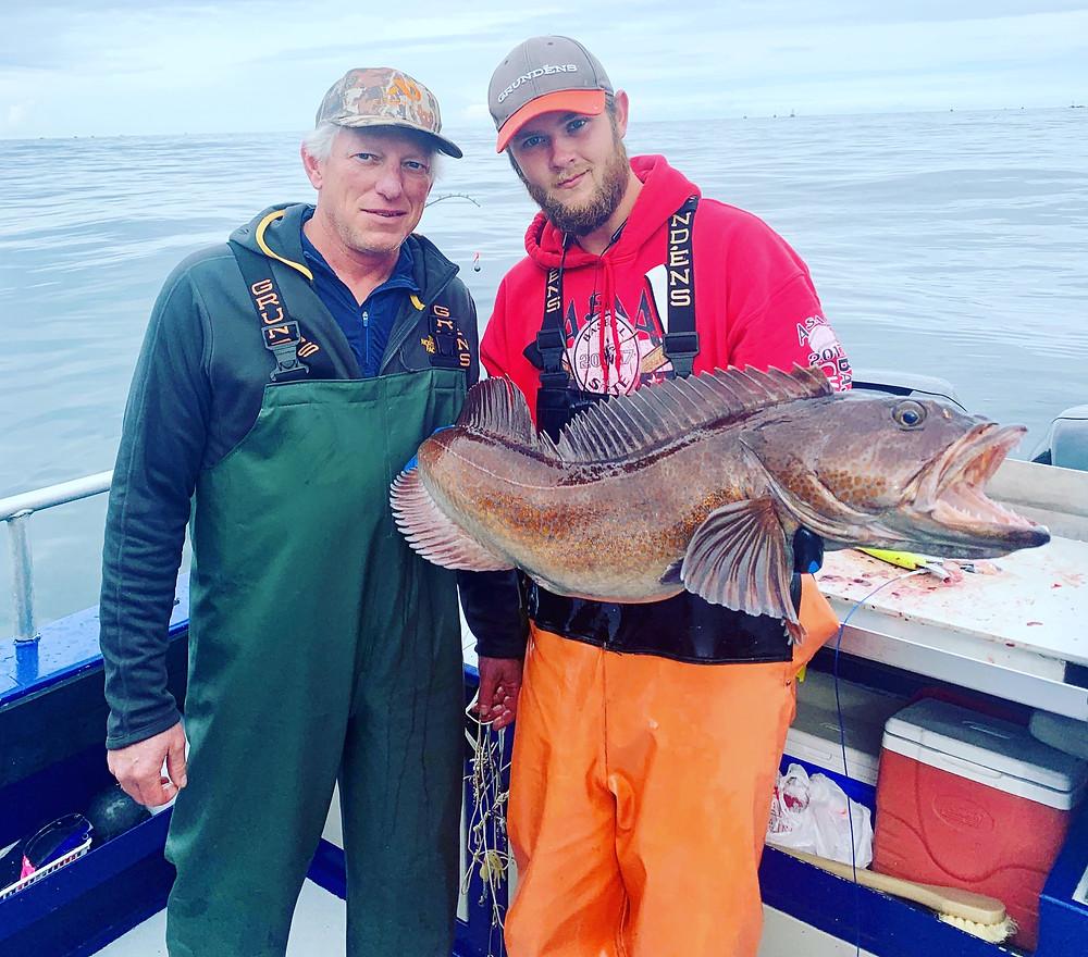 Alaska Lingcod Fishing