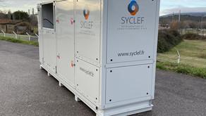 SYCLEF INAUGURE SON BANC CO2